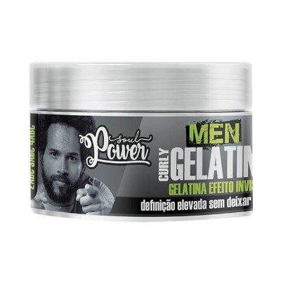 Men Curly Gelatine 250g - Soul Power