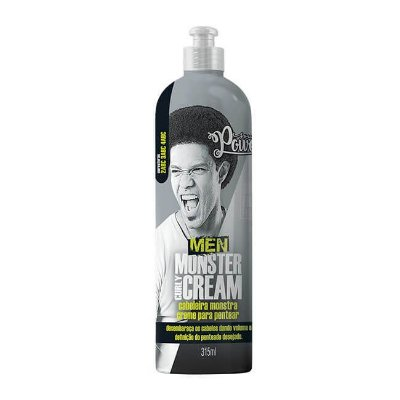 Creme Para Pentear Men Monster Curly Cream 315ml - Soul Power