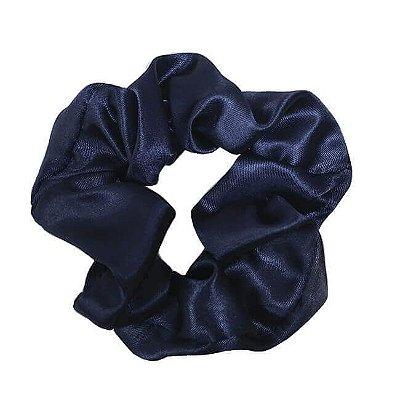 Xuxinha de Cetim Azul Marinho - Turban