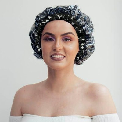 Touca de Banho Noite Estrelada - Turban