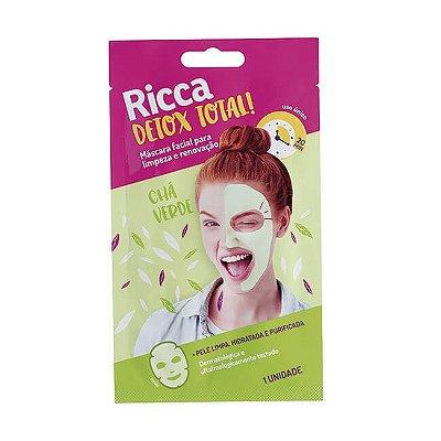 Máscara Facial Limpeza e Renovação - Ricca
