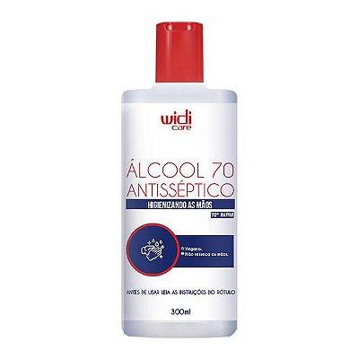Álcool 70 Líquido 300ml - Widi Care