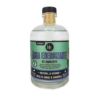 Água Energizante de Ambiente Água de Arroz e Gardênia 400ml - Lola Cosmetics
