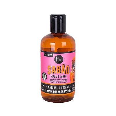 Sabão Líquido Rosas e Jasmim 250mL - Lola Cosmetics