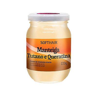 Manteiga de Tutano e Queratina 220g - Soft Hair