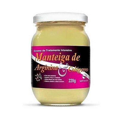 Manteiga de Arginina e Colágeno 220g - Soft Hair