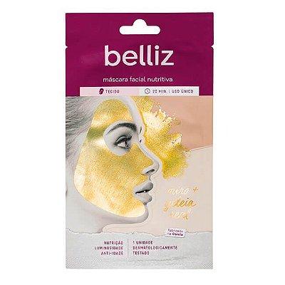 Máscara Facial Nutritiva de Ouro - Belliz