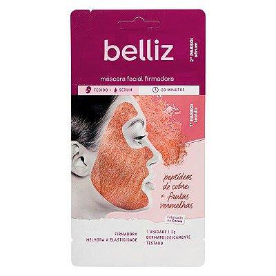 Máscara Facial Firmadora com Cobre - Belliz