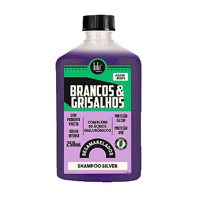 Brancos e Grisalhos Shampoo Silver 250mL - Lola Cosmetics