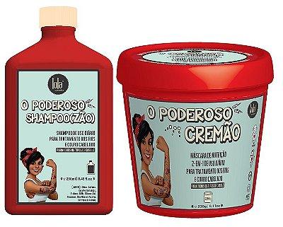 COMBO O PODEROSO CREMÃO 230g + O PODEROSO SHAMPOO(ZÃO) 250ml