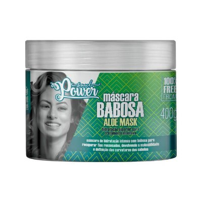 Máscara Babosa Aloe Mask 400g - Soul Power