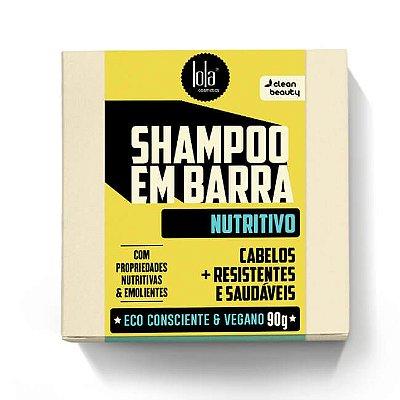 Shampoo em Barra Nutritivo 90g - Lola Cosmetics