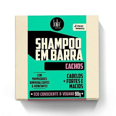 Shampoo em Barra Cachos 90g - Lola Cosmetics
