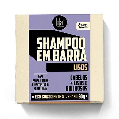 Shampoo em Barra Lisos 90g - Lola Cosmetics
