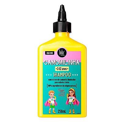Shampoo Camomilinha 250mL - Lola Cosmetics