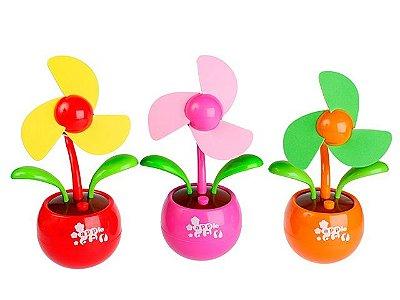 Ventilador USB Vaso de Flor