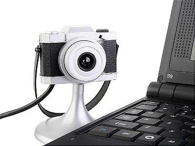 Webcam Câmera Fotográfica Retrô