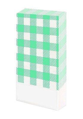 Guardanapo de mesa - Xadrez Verde (20 unidades)