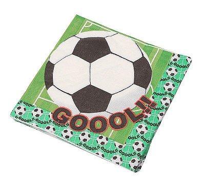 Guardanapo de papel - Futebol (33cm - 20 unidades)