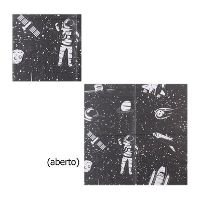 Guardanapo de papel - Astronauta (33cm - 20 unidades)