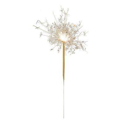 Vela Cometa - Dourada 15 cm (4 unidades)