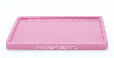Bandeja para doces - Rosa (30x18x2cm)