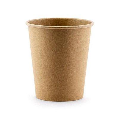 Copo de papel - Kraft  (260 ml - 10 unidades)