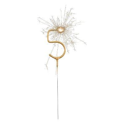 Vela dourada cometa - numero 5