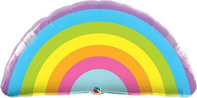 """Balão gigante 36"""" - Arco-Íris (unidade)"""