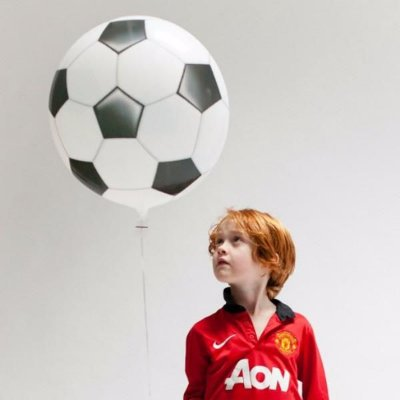 """Balão Bubble 22"""" - Bola de Futebol (unidade)"""
