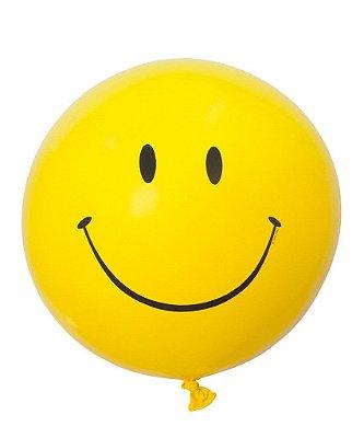 """Balão gigante 36""""- Carinha/ Emoji / Smiley (unidade)"""