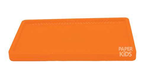 Bandeja para doces - Laranja Neon (30x18x2cm)