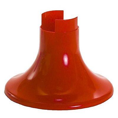 Pé para Vaso Artificial - Vermelho (12.5 cm h) - 1 unidade