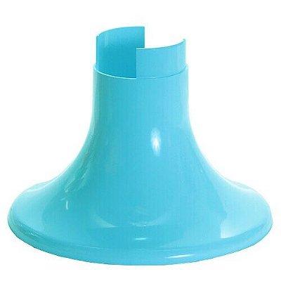 Pé para Vaso Artificial - Azul Céu (12.5 cm h) - 1 unidade