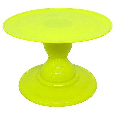 Boleira Amarelo Neon - (13.5 cm h x 22cm)