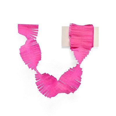 Cauda / Franja para balão - Rosa escuro (5 cm x 3 metros)