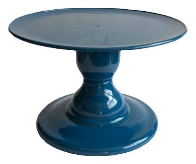 Boleira Azul Petróleo - (13.5 cm h x 22cm)
