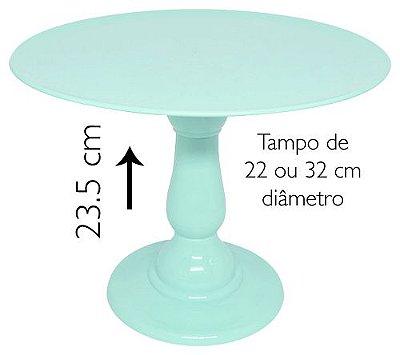 Boleira 23.5 cm altura - Verde Candy (escolha o tampo)