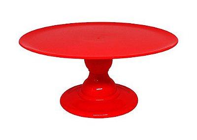 Suporte para doces - Vermelho (13.5 cm h x 32cm)