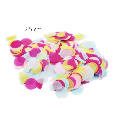 Mix confetes Colors - 2.5 cm (20g)