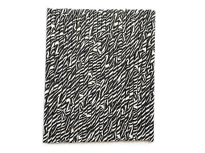 Canudo de papel estampa Zebra - 20 unidades