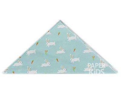 Guardanapo de papel - Coelhinhos e Cenouras (23 cm - 20 unidades)