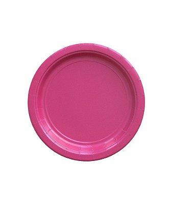 Pratinho de papel - Pink 18 cm (10 un)