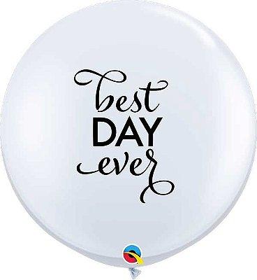 """Balão gigante 36""""- Best Day Ever (unidade)"""