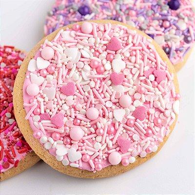 Confeito para Bolo - Prety In Pink Sprinkles  (89 gramas)
