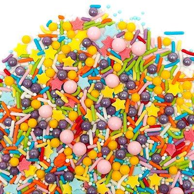 Confeito para Bolo - Happy Birthday Sprinkles  (90 gramas)