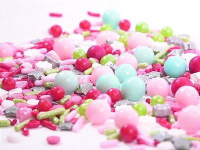 Confeito para Bolo - Merry Bright Sprinkles  (96 gramas)