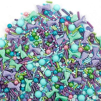 Confeito para Bolo - Mermaid Sprinkles (94 gramas)