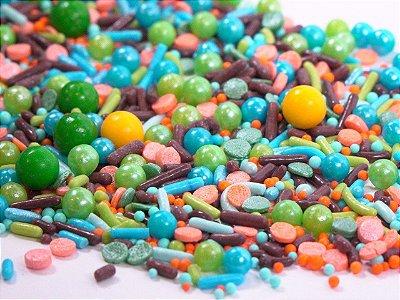 Confeito para Bolo - Dinossaur Sprinkles (97 gramas)