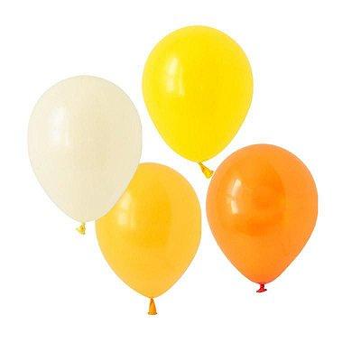 """Kit Balões látex 11"""" Citrus - 4 cores (8 unidades)"""